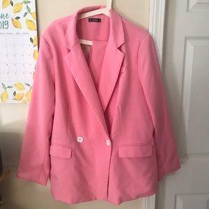 Final Plus size Pink Suit size 3x